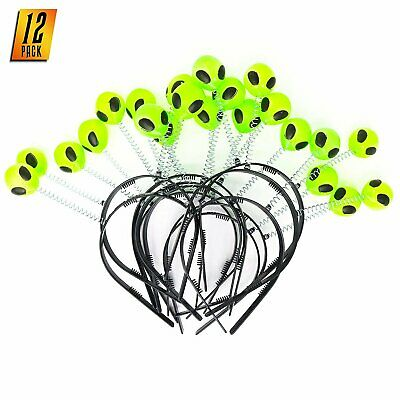 Skeleteen Alien Boppers Kids Party Favors - Glow in The Dark Headband Aliens... - Party Glow In The Dark