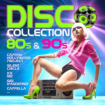 CD Disco Collection 80s & 90s von Various Artists