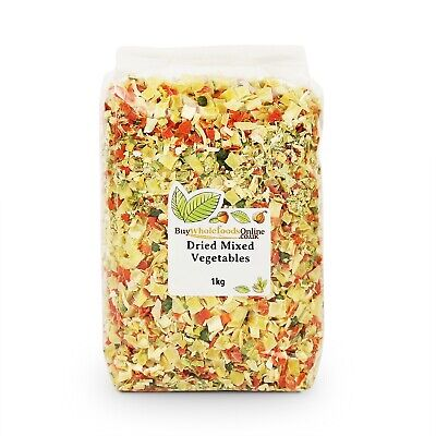 Dried Vegetables Mixed 1kg   Buy Whole Foods Online   Free UK Mainland P&P