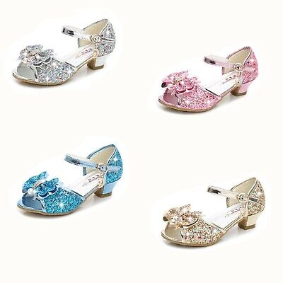 Absatz Schuhe Prinzessin Kinder Mädchen Bling Hochzeitsschuhe Sommer Sandalen  ()