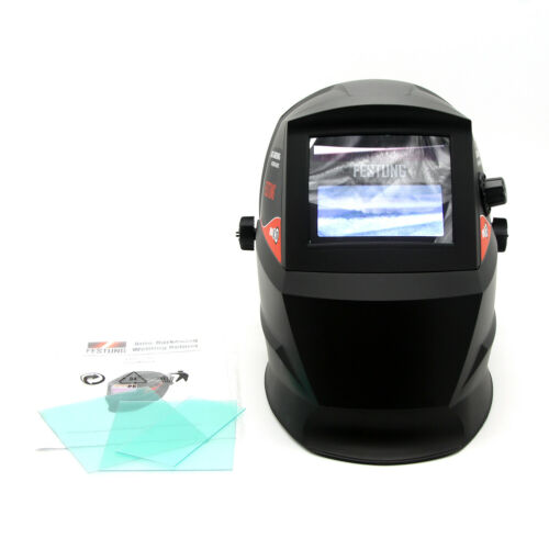 Auto-darkening Welding Helmet Durability Grinding Welder Mask Solar Powered
