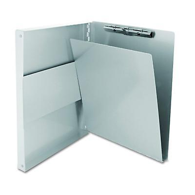 Aluminum Storage Clipboard Letter Office Document Paper Box Organizer 9x12 New