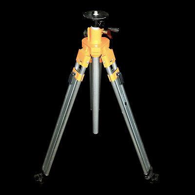 Nedo Heavy Duty Elevating Aluminum Surveying Adjustable Tripod