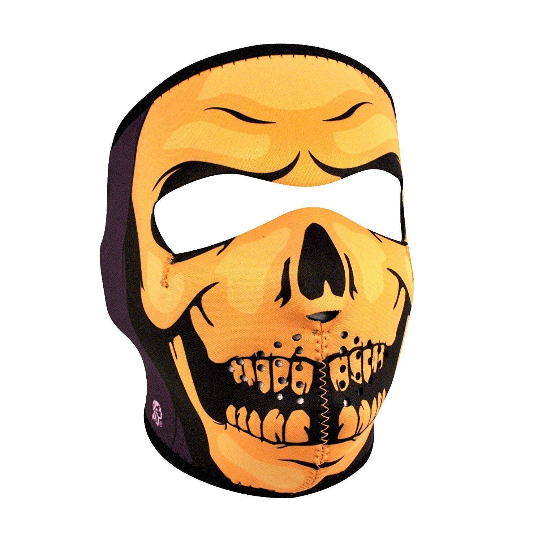 Skull Skeleton Face Mask Motorcycle Paintball Neoprene