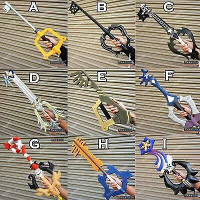 Kingdom Hearts Keyblades (32