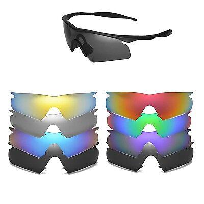 Frame Hybrid Replacement Lenses (Walleva Replacement Lenses for Oakley M Frame Hybrid Sunglasses-Multiple)