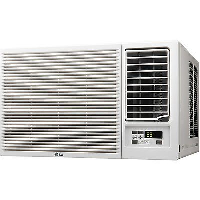 LG LW1215HR 12,000 BTU Window AC 11,200 BTU Heating, Remote, Auto Restart, Timer