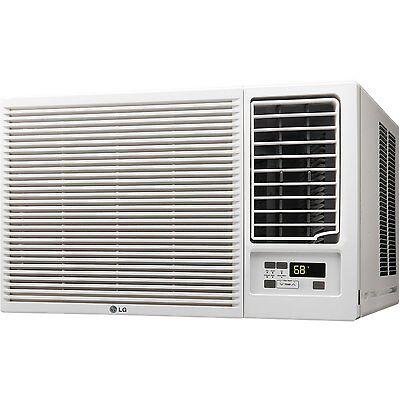 LG LW8015HR 7,500 BTU Window Air Conditioner with 3,850 BTU Heating, Remote