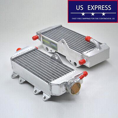 Aluminum alloy Radiator Kit For Yamaha YZ125 2005-2018 2006 2007 2008 2009 2010