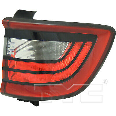 14-18 Dodge Durango Quarter Passenger Right Side Tail Light Rear Lamp - Dodge Durango Tail Lamp