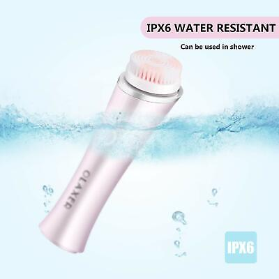 3D Sonic Facial Cleansing Brush Skin Rechargable Waterproof Electric Face
