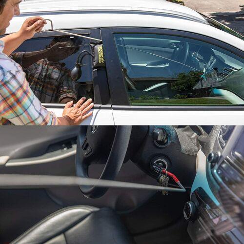 Fast Access Car Door Open Unlock Tool Kit Key Lost Lock Out 2 Air Wedges 12pc