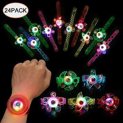Light Up Bracelet Glow in The Dark Party Favors for Kids 24pk Wristband LED Neon - Party Glow In The Dark