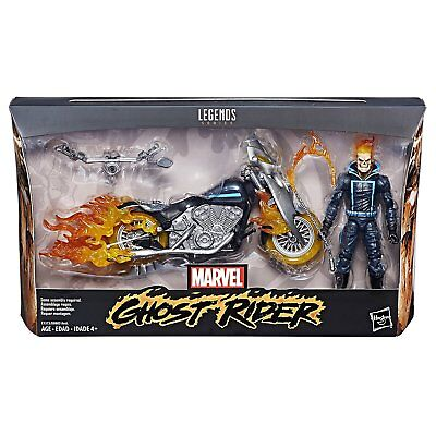 Marvel Legends ~ GHOST RIDER w/MOTORCYCLE ACTION FIGURE BOXED SET