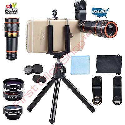 Phone Camera Lens Telephoto Zoom Tripod Holder Set For Best Photos Smart