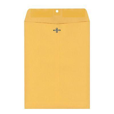 Members Mark 10 x 13 Envelopes 150 ct. Brown Metal Clasp Kraft Envelope Mailers