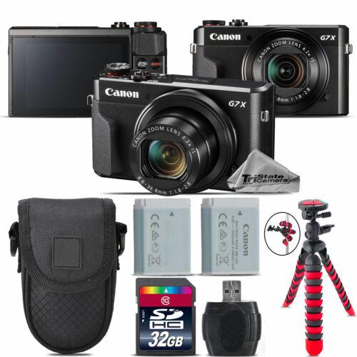 Canon PowerShot G7 X Mark II Digital DIGIC 7  WiFi Camera +