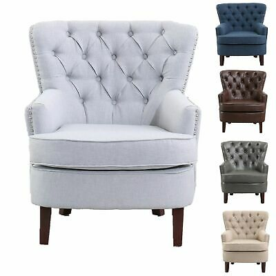 Oxford Traditional Armchair - Classical Arm Chair Accent Occasional Chair