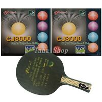 Palio Tct With 2x Cj8000 (biotech) Rubber With Sponge (h40-42) For A Racket - custommade - ebay.co.uk
