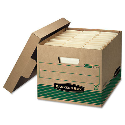 Bankers Box Storfile Extra Strength Storage Box Letterlegal Kraftgreen 12