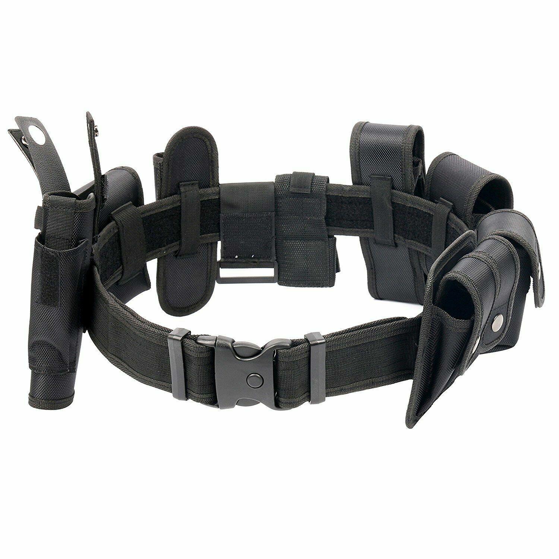 Police Security Guard Modular Enforcement Equipment Duty Belt Tactical Nylon USA Business & Industrial