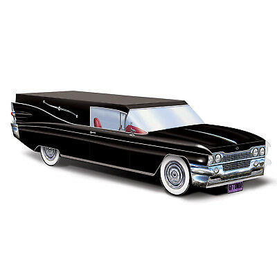 Macabre HALLOWEEN Gothic Party Decoration Funeral Car HEARSE Table - Gothic Halloween Decorations