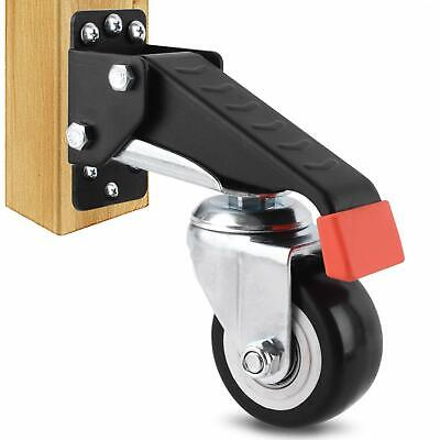 Workbench Casters Heavy Duty Retractable Caster Wheels For Machinery Tables New