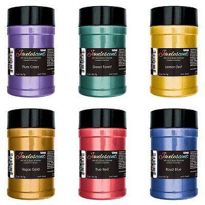Basic 6 Color Mica Pearl Powder Kit 2oz - Paint Epoxy Resin