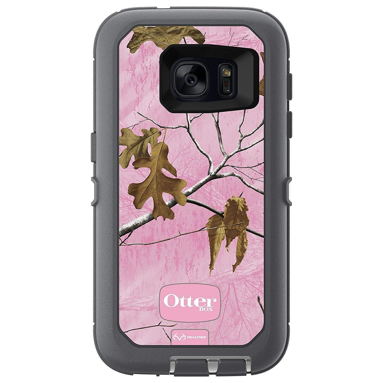 Otterbox Defender Case Samsung Galaxy S7 (Case Only) (Realtree Xtra Pink)