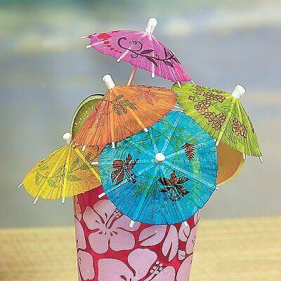 144Pcs Cake Drink Paper Umbrellas Decor Party Cocktail Drink Parasols Decoration