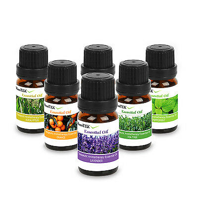 Essential Oil Set -6 Lot- Aromatherapy Therapeutic Grade Oils Lot 10ml Natural