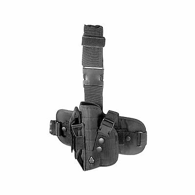 UTG Special Operations Universal Tactical Black Leg Holster Right Handed - Operations Universal Tactical Leg Holster