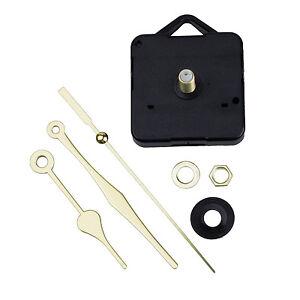 Quartz-Clock-Movement-Mechanism-Gold-Hands-DIY-Repair-Parts-Kit-LW