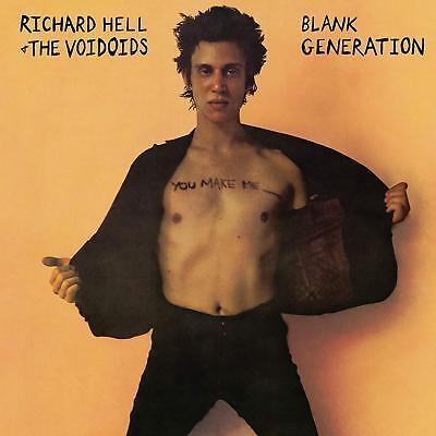 RICHARD HELL & THE VOIDOIDS BLANK GENERATION LIMITED EDITION ORANGE VINYL LP