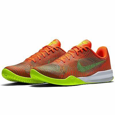 watch 53f17 4ab37 New Nike Kobe KB Mentallity II Low Basketball Shoes Size 12 Total  Crimson Volt