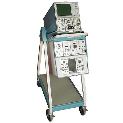 Tektronix 7603 General Purpose 100mhz Tracer Oscilloscope W Cart Modules