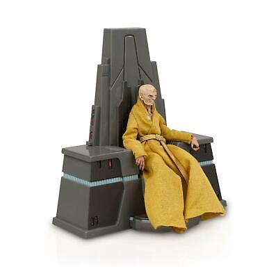Star Wars Black Series Supreme Leader Snoke w/ Throne 6 Inch Action Figure Set ()