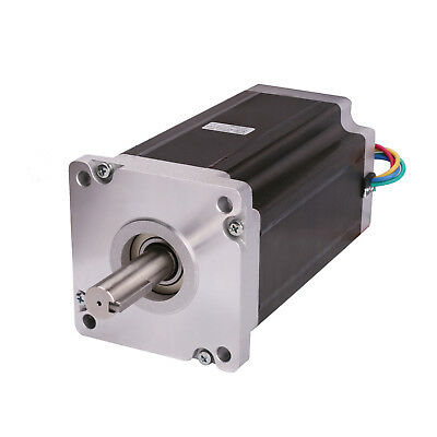 1pc Stepper Motor Nema42 42hs6480b 4120oz-in 8.0a 4leads Dual Shaft Cnc Kit