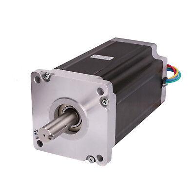 1pc Stepper Motor Nema42 42hs6480b 4120oz-in 8.0a 4leads Dual Shaft Cnc Kit