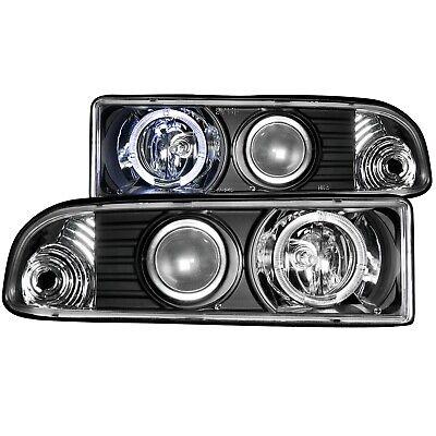 Anzo USA 111015 Projector Headlight Set w/Halo Fits 98-04 S10 Blazer S10 Pickup