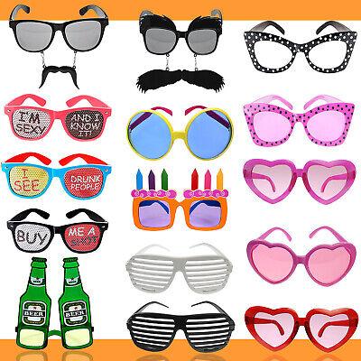 Partybrille - Partydeko Fasching Karneval Atzenbrille Party Kostüm lustig - Lustiges Party Kostüm