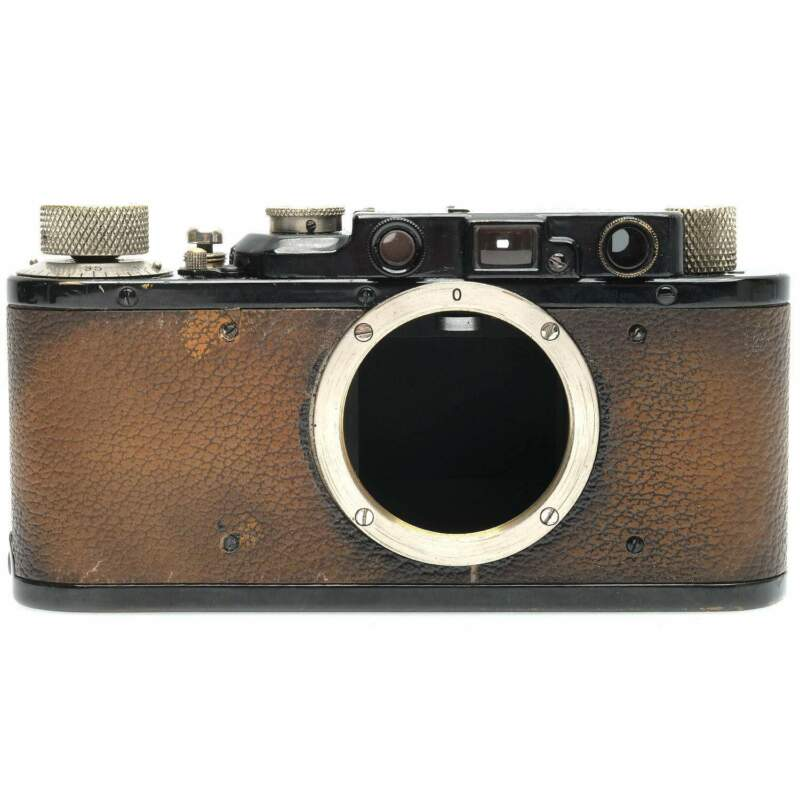 Leica II Film Rangefinder Camera Body (Black)