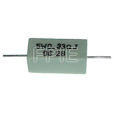 0.33 Ohm 5w Cement Wire Wound Resistor Lead Free E-2899