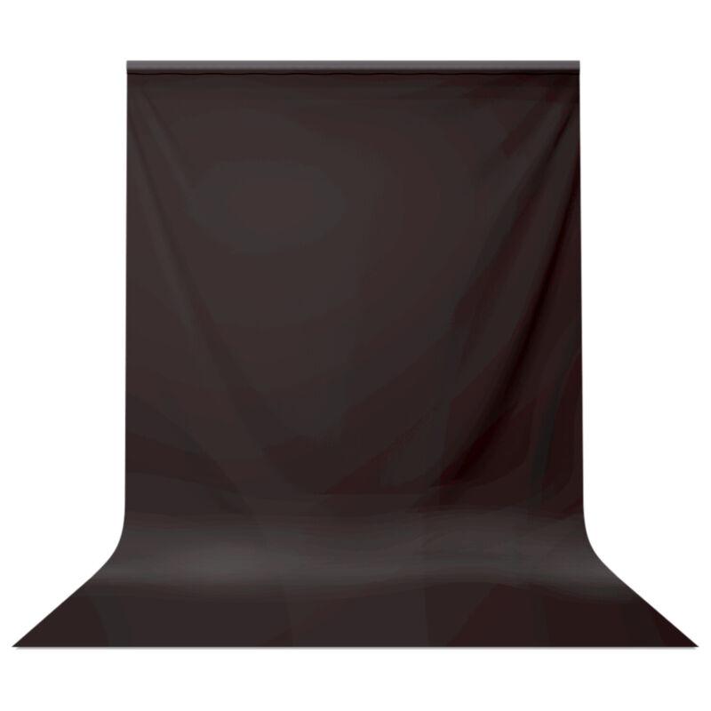 5 x 10 Feet. Polyester Black Muslin Backdrop Photography Background Photo Screen