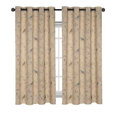 H.VERSAILTEX Thermal Insulated Room Darkening Curtains Livin