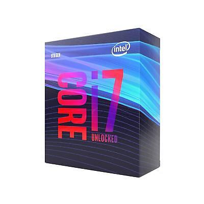 Intel Sum i7-9700K Desktop Processor 8 Cores up to 4.9 GHz Turbo Unlocked