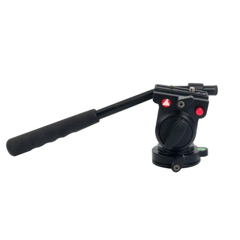 KINGJOY Flexible Aluminum Camera Video Fluid Tripod Head for Cameras KH-6750 US