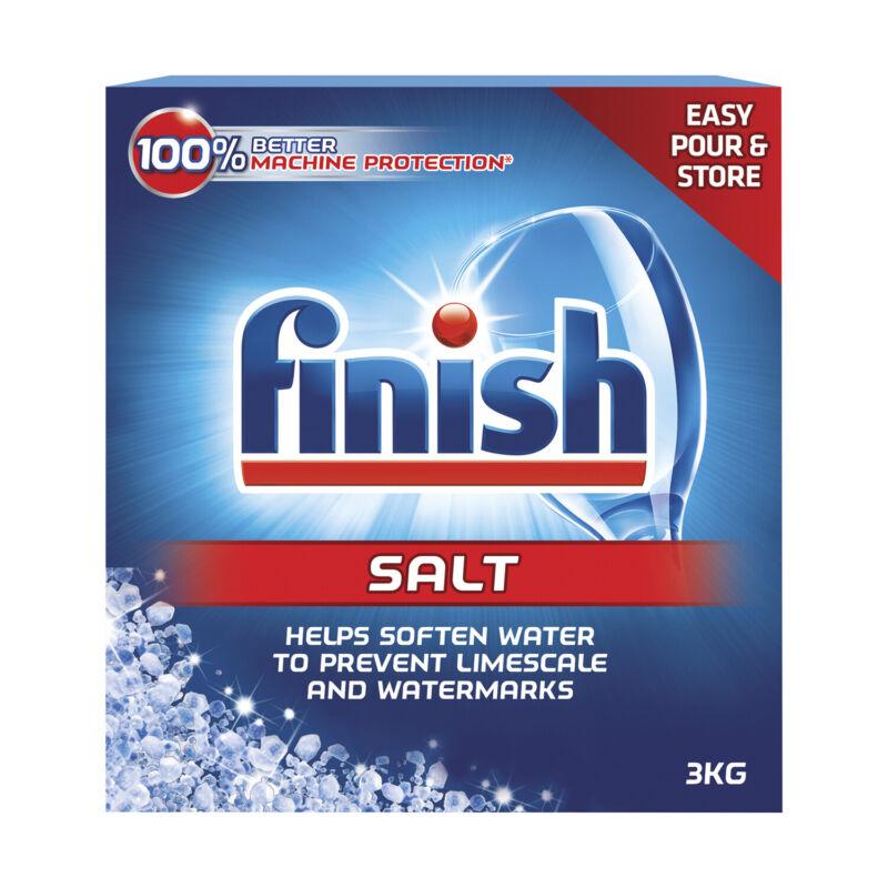 2 Pk Finish Dishwasher Machine 2X Better Protection Water Softener Salt 105.8 oz