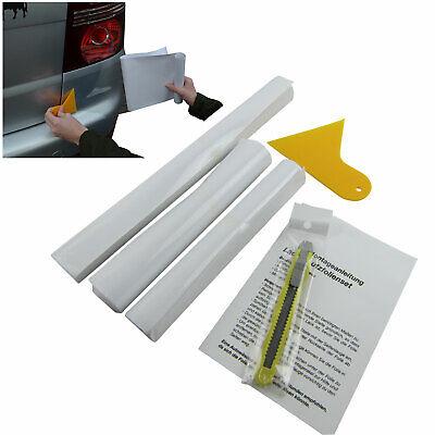 Set Klar Transparent inkl. Messer Rakel Komplettes Lackschutz Folie Auto Wrap