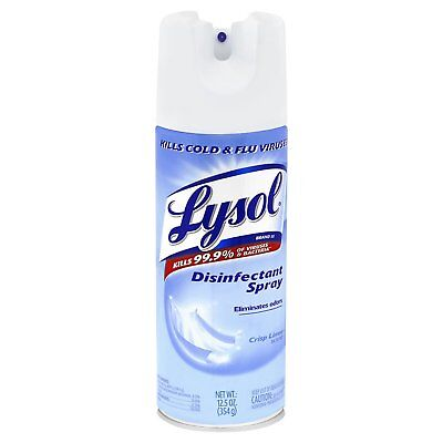 Lysol Disinfect Kitchen / Bathroom Clean Spray - Crisp Linen